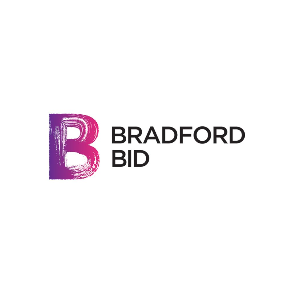 Bradford BID logo on white